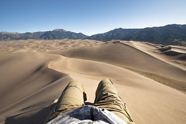 Kierunek - Great Sand Dunes, co