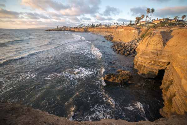 Kierunek - Sunset Cliffs, ca
